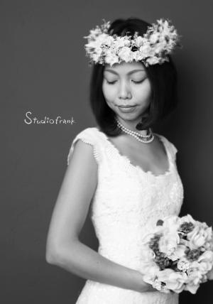 花嫁様 花冠